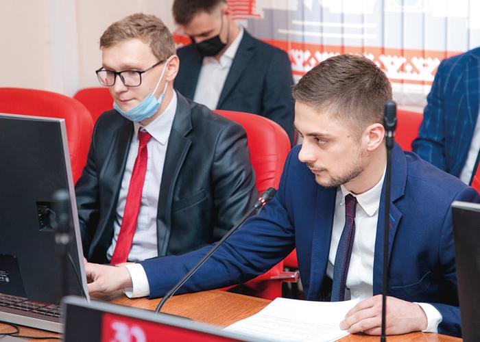 Защита проекта Вадима Мирзоева и Микаила Джафарова