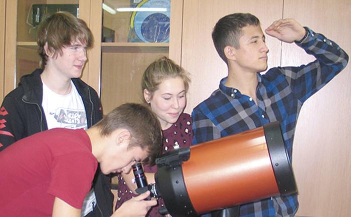 Музей космонавтики  (печорская школа № 2 имени Андрея Стенина, 2018 год)