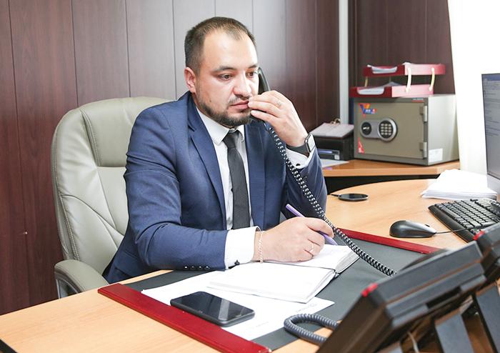 Начальник ЦПТСН Руслан Файрузов